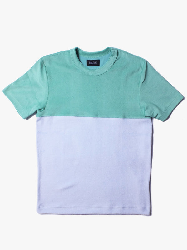 Duo Color T-shirt - Green Multi