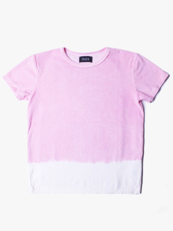 Hard Boiled Babe Hand Dyed Top - Light Pink (Women's)