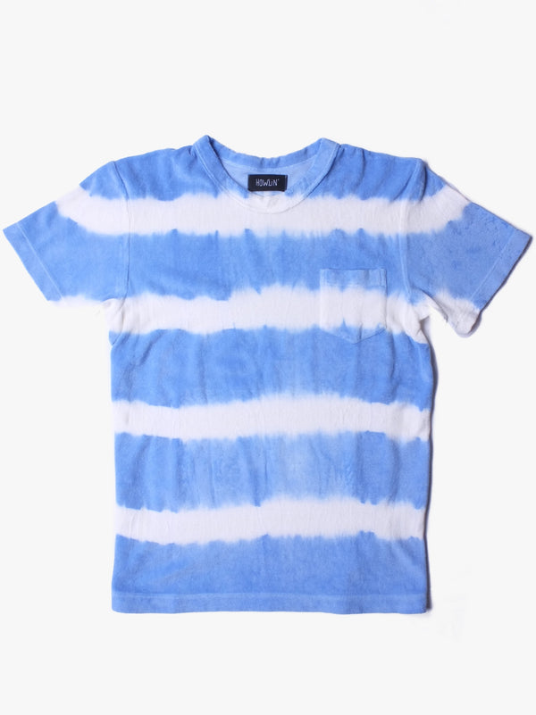 Fons Hand Dyed Stripes - Light Blue