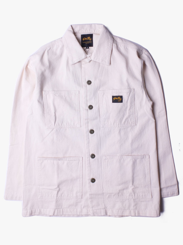 Work Jacket - Natural