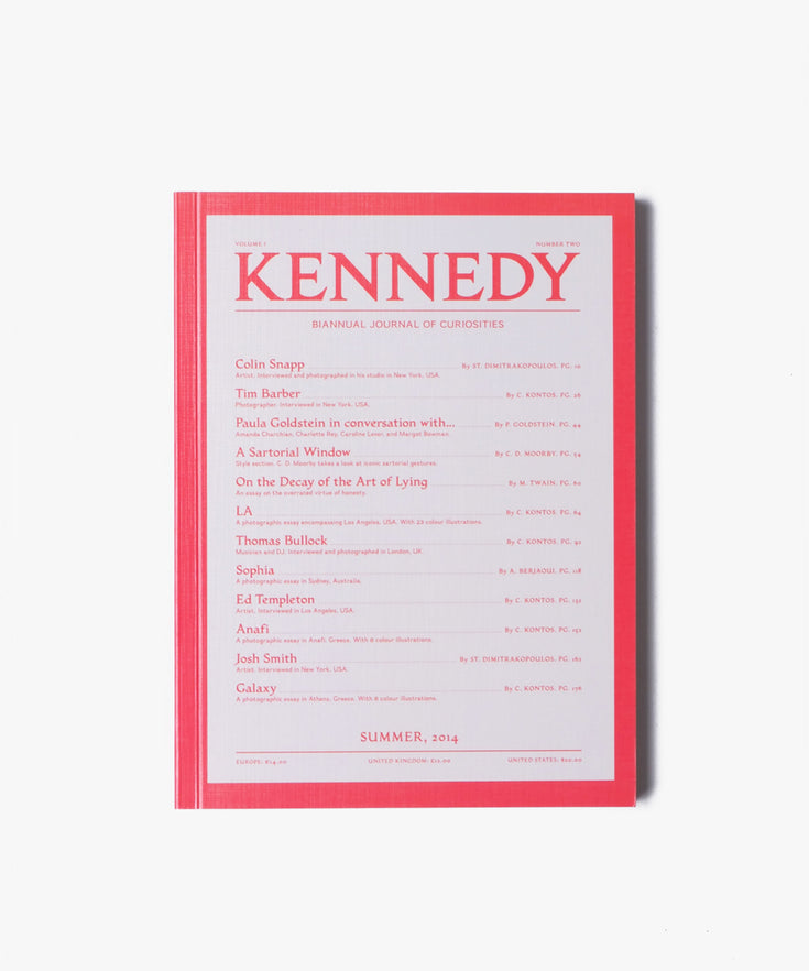 Kennedy Magazine - Volume 1 N°2