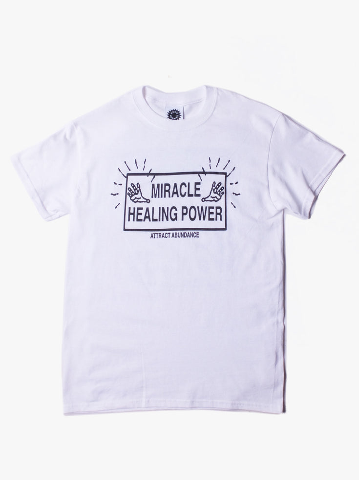 Attract Abundance Tee - White