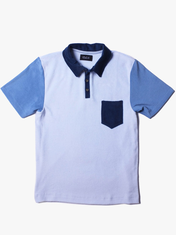 Multi Color Polo - Blue Multi