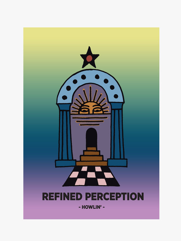 Poster A1 - Refined Perception