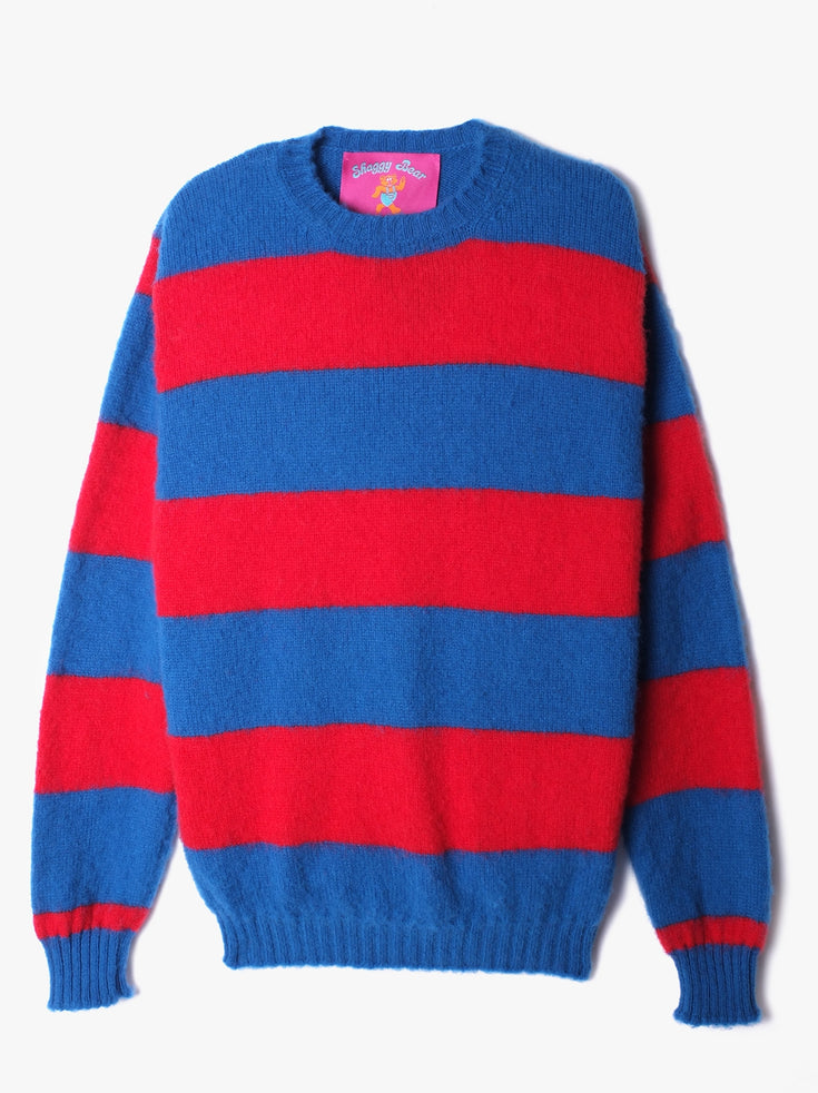 Shaggy Bear Chunky Stripes - Aquatic