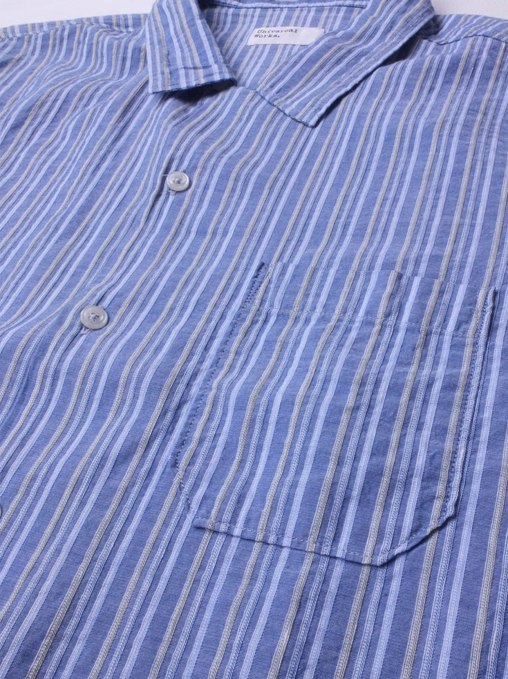 Road Shirt - Blue Stripe