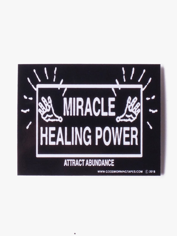 Attract Adundance Bumper Sticker - One