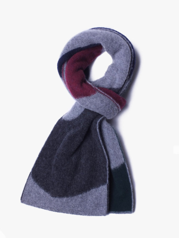 Tribute To Alan Watts Scarf - Grey Mix