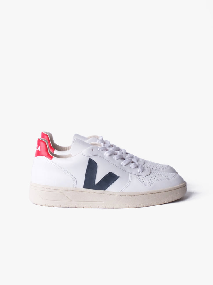 V10 Leather - Extra White Nautico Pekin