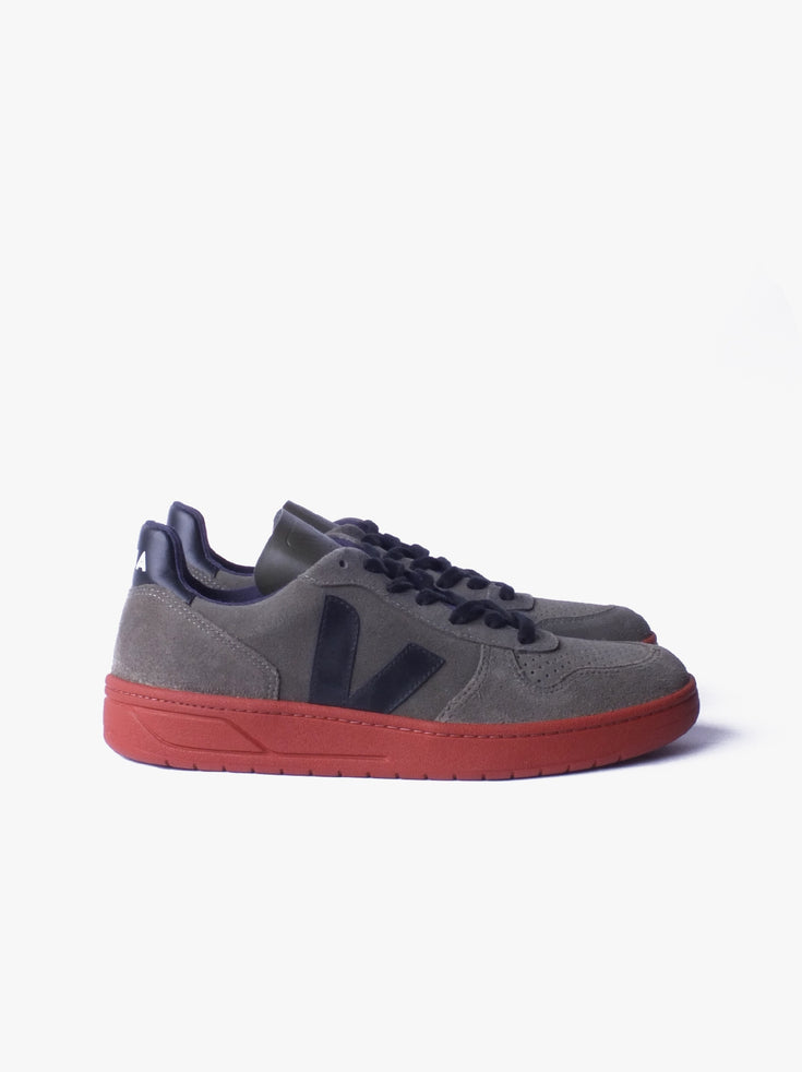 V10 - Suede Olive Black Rust Sole
