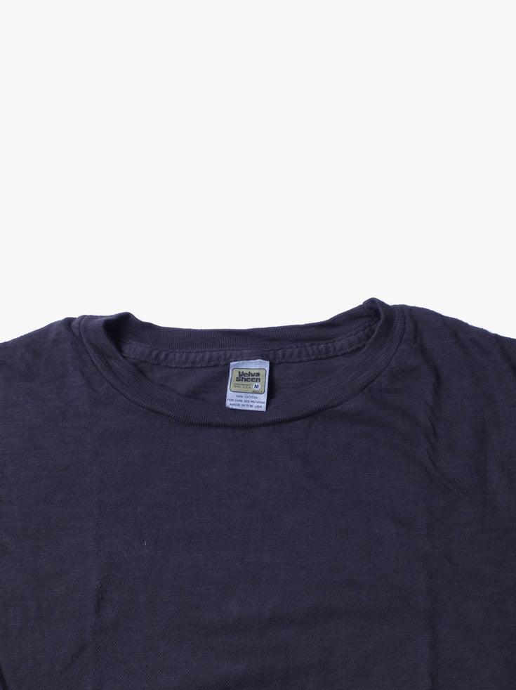 Rolled T-shirt -  Charcoal