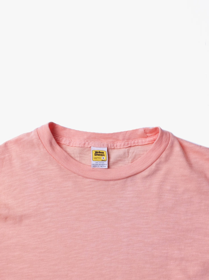 Rolled T-shirt - Pink