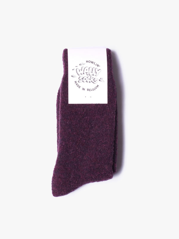 Wally Socks - Purple