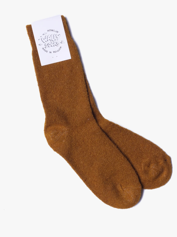 Wally Socks - Mustard