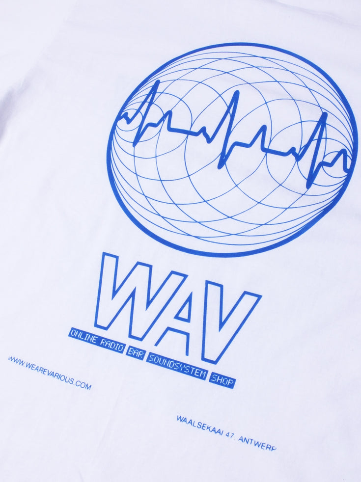 WAV Logo T-shirt - White (Women) ** Limited Edition