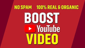 Organic YouTube Promotion(100% real organic visitors) Vtube.cc