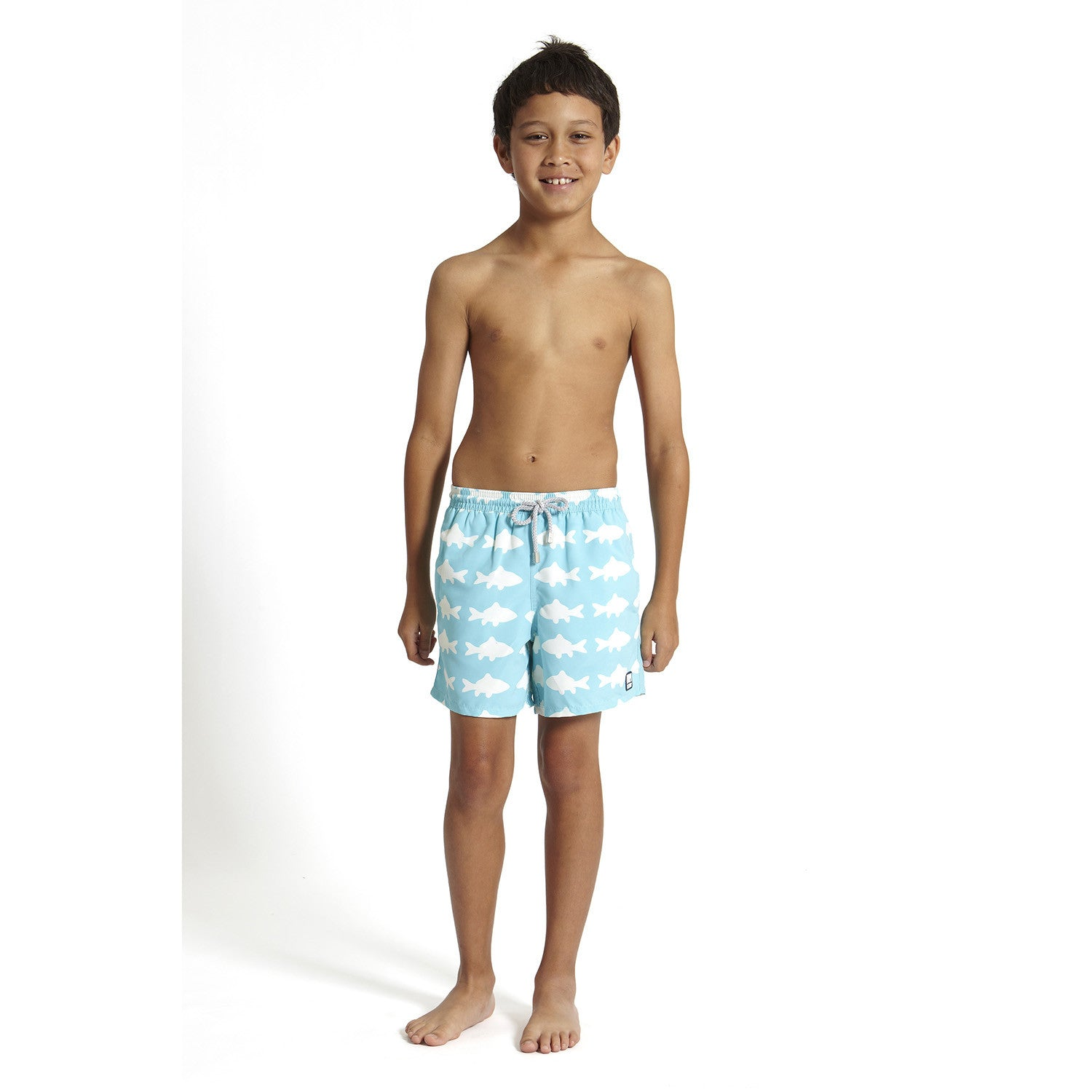 For a more casual athletic option, try a pair of boardshorts in a slightly longer length than standard trunks. No matter the style, boys' swimwear from Kmart features quality materials and designs. Built-in mesh briefs add an extra layer of comfort while secure pockets hold goggles and other gear. Dive into summer with new boys' swimwear.