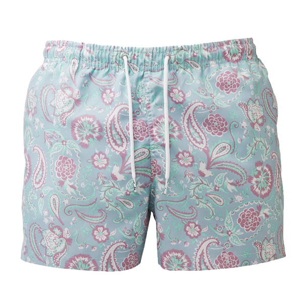 Franks Paisley Men's Swim Trunks