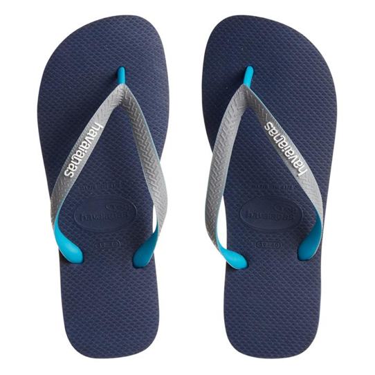 Havaianas Flip Flops Top Mix Navy, Grey & Aqua