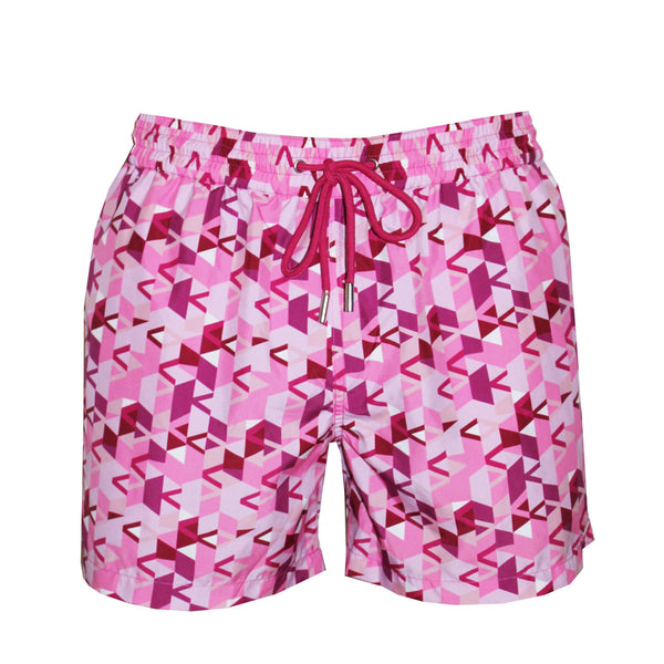 Naila Calypso Isa Eco-Friendly Swim Trunks - Pink
