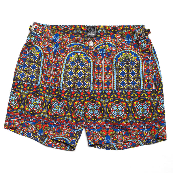 Pangea Chartres Stained Glass Swim Trunk