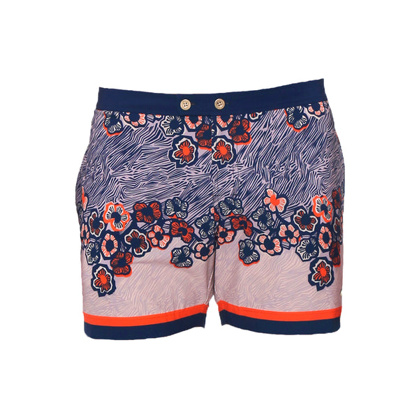 Parke and Ronen Lido Love Field Peach Swim Trunk