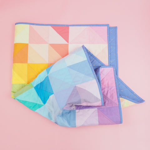 Charm Pack HST Quilt