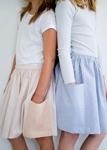 Gathered Skirt for All Ages Free Pattern Purl Soho