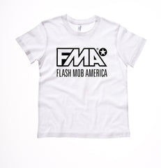 Kid's White Logo Tee