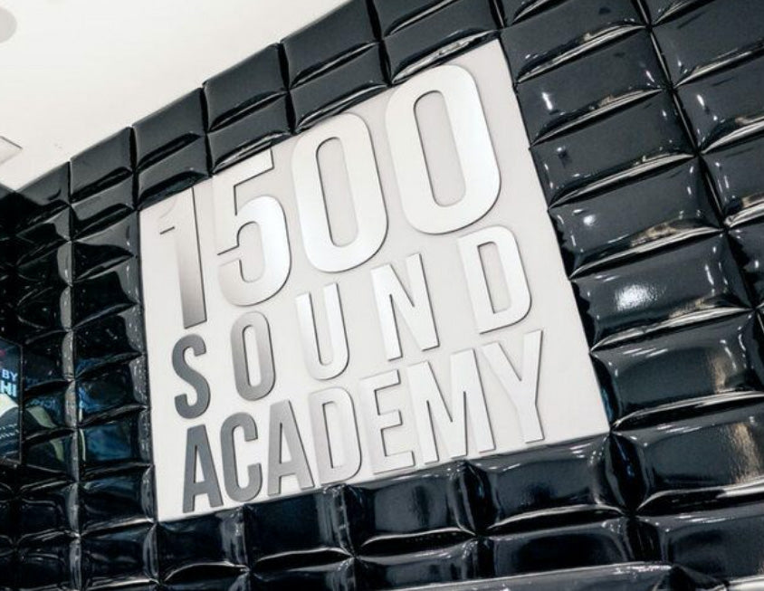 1500 Sound Academy music education banner
