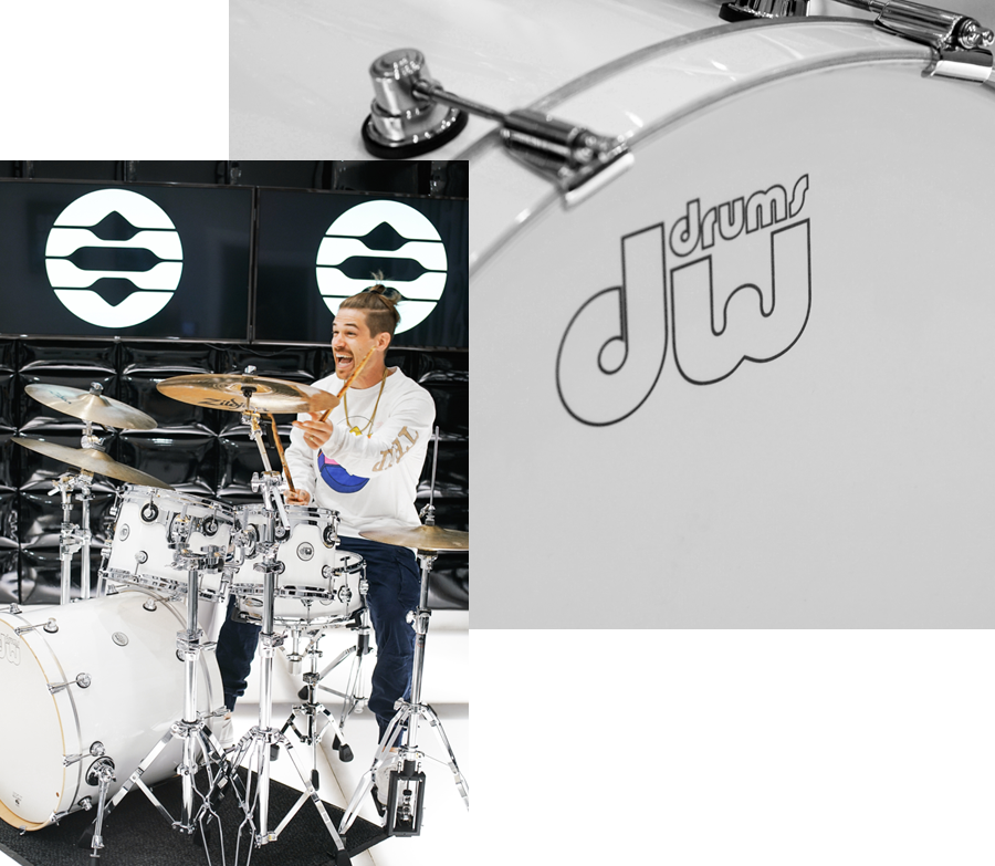Drum Classes at 1500 Sound Academy
