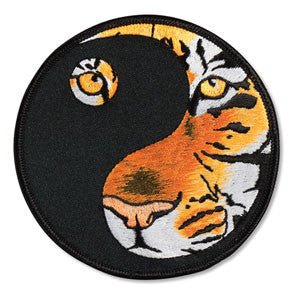 Eye of the Tiger Yin Yang patch