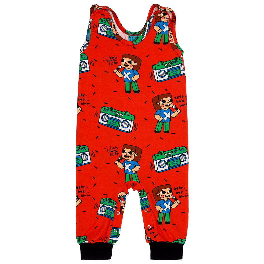 Brick Party Dungarees