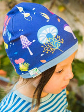 Load image into Gallery viewer, Merle kids forest at night beanie