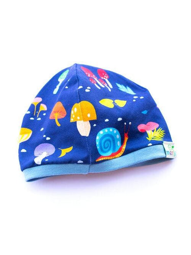 Merle kids forest at night beanie