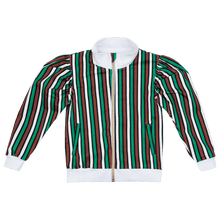 Load image into Gallery viewer, Pioneer Trail Puff Sleeve Bomber Jacket