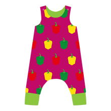 Load image into Gallery viewer, Lined Dungarees Pepper