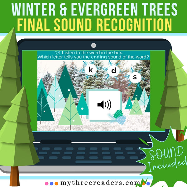 Winter & Evergreen Trees Final Sound Recognition Activity