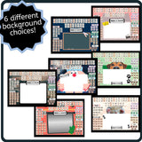 Digital Letter Tiles Board - Interactive Boom Activity for Readers & Spellers