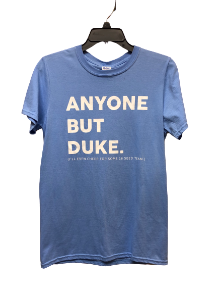 Anyone but Duke