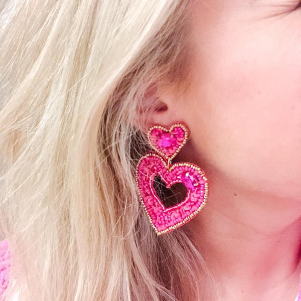 LOVE Statement Earrings