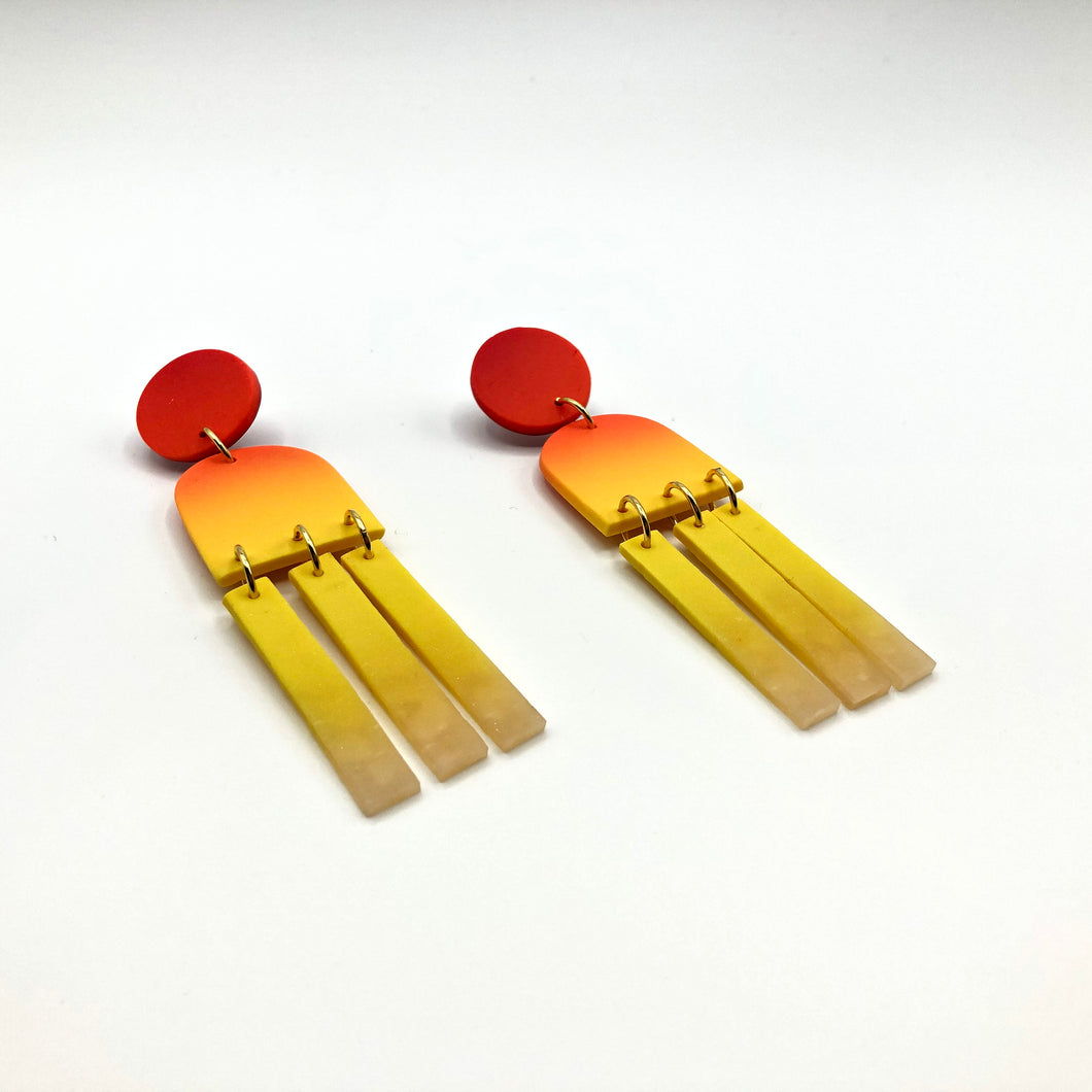 Rising Sun Medium Dangles