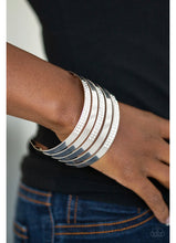 Load image into Gallery viewer, Big Time Shine - White Bracelet