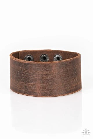 Casually Cowboy Brown Urban Bracelet