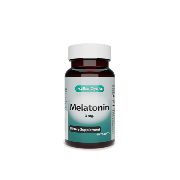 Basic Organics- Melatonin (3mg)