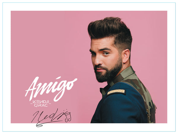 Photo Kendji Rose Tournée Amigo