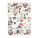 protege-passeport-fantaisie-harry-potter-cartoon-variant-blanc