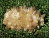 Orange Calcite Cluster