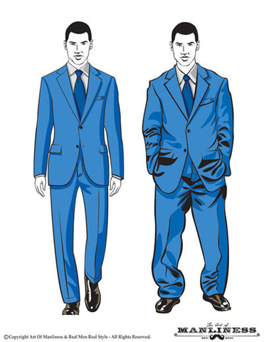 Visual Guides for a perfect Suit Fit.