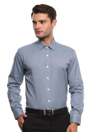 DOUBLE BARREL GREEN CHECKERED SHIRT